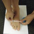 足長の測り方PHOTO